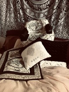 Excited to share this item from my shop: Black and White Boho Farmhouse Style Collection in bundle, pillows, cat and dog bed and large crate pad, off each item listed price Black Linen, Black Fabric, Black And White, White Farmhouse, Farmhouse Style, Big Dogs, Small Dogs, Handmade House, Carpet Padding