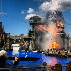 Universal Studios Hollywood  Waterworld