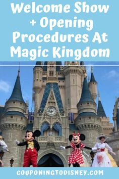 Welcome Show + Opening Procedures At Magic Kingdom Disney World Shows, Disney World Parks, Disney World Planning, Walt Disney World Vacations, Disney World Tips And Tricks, Cruise Vacation, Disney Cruise, Disney Tickets, Disney World Magic Kingdom