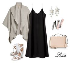 """""""Friday Night Look"""" by coolmommy44 ❤ liked on Polyvore featuring Burberry, Miss KG and Mark Cross"""