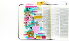 Illustrated Faith Delight in His Day Collection | Bible Journaling by Elaine Davis