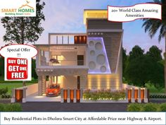 Buy Residential Plots in Dholera (India's First Smart City) at Best Rates. Its Highway Touch Plots and Close to Dholera International Airport. Purchase Plots at best offers !! 1. Buy 1 Plot & Get 1 Free. 2. Zero Down Payment Plan. 3. Booking Amount Rs.5000/- Only. 4. Easy EMIs Scheme  Location: 8-9 mins from CBD (Central Business District, Dholera). 7 mins from international airport. 300 meters from Fedara-Pipli Highway (Famously known as International Airport Highway).
