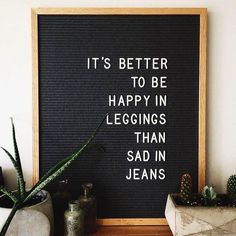 Long live leggings - funny fashion letterboard meme