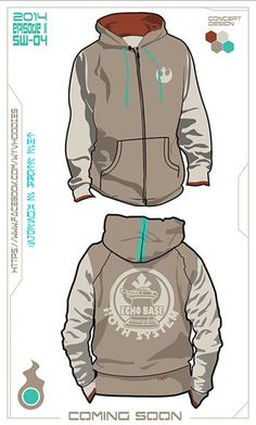 Echo Base Hoodie Concept. Buy the real hoodie today @ www.etsy.com/... #StarWars