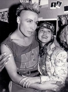 Madonna - High Quality shot of M at the Palladium in NYC with 80's popstar Marilyn in 1985