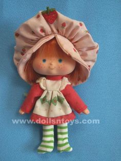 Strawberry Shortcake (the original edition) not the remake!