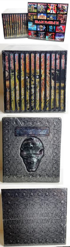 Music Albums: Iron Maiden 15 Cd Box Set Lot - New And Sealed! + 21 Magnets! Ships From The Usa! -> BUY IT NOW ONLY: $129.99 on eBay!