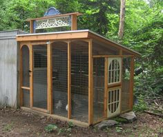 pretty run!/This could also be used as extra storage for gardening supplies. It could have endless uses.:0)