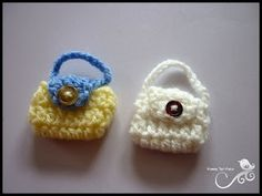Bunches of Barbie Bags - Crochet Patterns