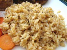 Garlic Butter Rice Recipe - Food.com 1 1/2 Calrose Rice 1 stick of butter 3 tbsp minced garlic