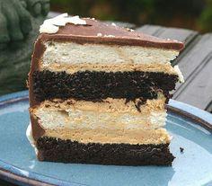 Heaven an hell cake
