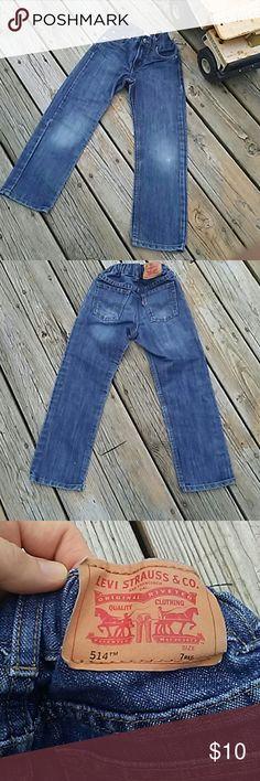 Boys Levi Straight Leg Jeans Boys Levi Straight Leg Jeans. Adjustable waste. Levi's Bottoms Jeans