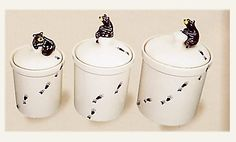 Bear Kitchen Canisters | Click on Image to Enlarge