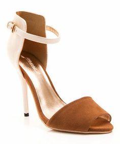fe9b4f2e7eb colorblock sandal Just Fab Shoes