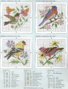 Gallery.ru / Фото #2 - четыре птички - irisha-ira