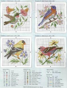 Birds2    Gallery.ru / Фото #1 - четыре птички - irisha-ira