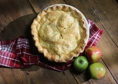 Apple Pie with Cheddar Cheese Crust recipe from Nancy Fuller