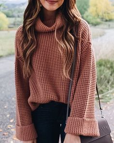 32 Warm and Comfy Turtleneck Outfits to Celebrate Thanksgiving The Forbidden Truth Regarding Awesome Pretty Fashion Outfits for Women Revealed by an Old Pro Regardless of what's your body … Source by Fall outfits sweaters Cozy Fall Outfits, Winter Outfits Women, Casual Outfits, Autumn Cozy Outfit, Sweater Weather Outfits, Black Outfits, Sweater Dresses, Girly Outfits, Sweater Outfits