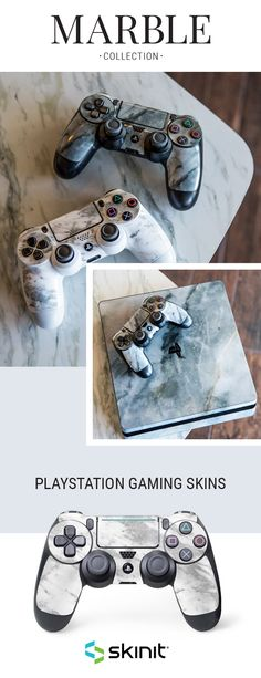 Marble PlayStation Gaming Skins by Skinit. Transform your PlayStation device into a fashion staple with our sleek and modern Marble designs! Available for PlayStation 4, PlayStation 4 Slim, PlayStation 4 Pro and more! #SkinitMade #marble #whitemarble #playstation #ps4skin #playstation4 #gamingskin #girlgamer #gamer