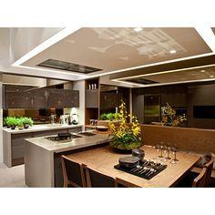 Cozinhas com ilhas – veja dicas + 30 modelos de ilhas de cocção e refeição…