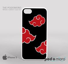 Naruto Akatsuki Cloud for iPhone 4/4S, iPhone 5/5S, iPhone 5c, iPhone 6, iPhone 6 Plus, iPod 4, iPod 5, Samsung Galaxy S3, Galaxy S4, Galaxy S5, Galaxy S6, Samsung Galaxy Note 3, Galaxy Note 4, Phone Case