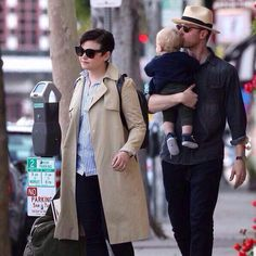 Ginny and Josh with baby Oliver :)