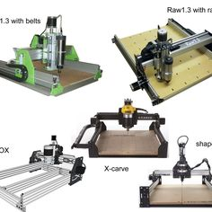 CNC Tips and Tricks  Read more here http://rawcnc.com/building-your-own-machine/raw-compared-with-v-slot-machines/