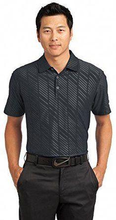 8d20f608 Add custom printed logo to Nike Golf Dri-FIT Embossed Polo Dark Grey 391  Anvil Ladies' Sheer Scoop-Neck Tee