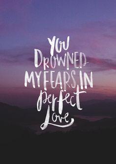 """""""Vc afogou meus medos em amor perfeito"""""""