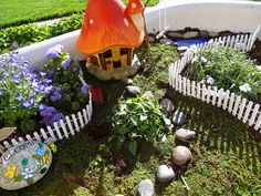 PInner\'s note: Hobby Lobby carries fairy garden accessories. | Fairy ...