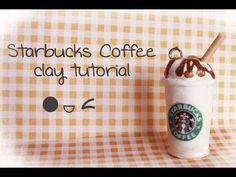 Fimo Starbucks Coffee - Polymer Clay Tutorial