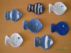 ... mes petits poissons au crochet ...
