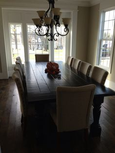 seater dining tablequot oak planked toptriple infinite optn ebay table pinterest stains chairs and gray: dining table that seats 10