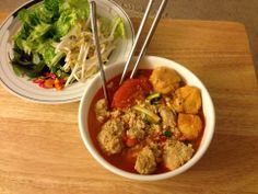 Vietnamese Prawn Noodle Soup Recipe