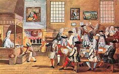 A london Coffee house c. 1705 -The Lost World of the London Coffeehouse Charles Ii Of England, Chocolate House, Chocolate Hazelnut, London Cafe, Georgian Era, The Lost World, Vintage Poster, Dundee, British Museum