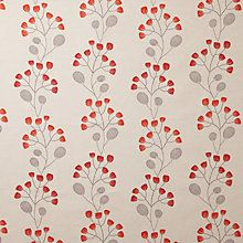 Buy John Lewis Seedlings Curtain, Red from our Made to Measure Curtains range at John Lewis. Free Delivery on orders over Red Curtains, Curtains With Blinds, Curtain Fabric, John Lewis Fabric, Small Lounge, Fabric Bunting, Made To Measure Curtains, Scandinavian Modern, Backgrounds