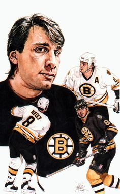 This is an illustration I did some time ago of former Boston Bruins player and current President Of Hockey operations, Cam Neely.  Original art done in markers 11x14 in size.