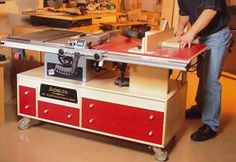 Make a tablesaw and router workstation My character would definitely have something like this in his workshed.