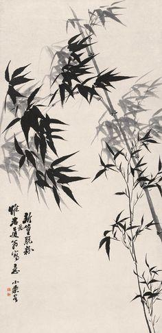 Shitao's Flower-and-Bird Painting | Chinese Art Gallery | China Online Museum  清代 石濤