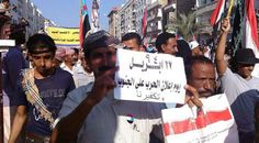 Thousands demonstrate in southern Yemen to demand independence and rejection of the federal state
