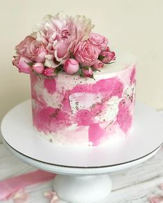 Такая нежность люблю тортики с живыми цветами
