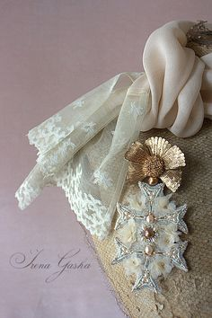 "Brooch. Collection ""Champagne/Chercher la Femme"""