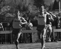 Oregon track athletes 1968. From the 1968 Oregana (University of Oregon yearbook). www.CampusAttic.com