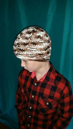 Hey, I found this really awesome Etsy listing at https://www.etsy.com/listing/459397754/rockhill-crochet-windowpane-beanie