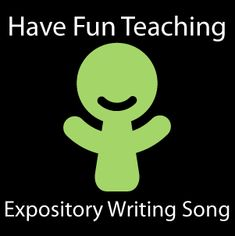 fun expository writing song- topic/main idea, 3 supporting details, and conclusion