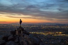 South Mountain Park and Preserve, Sonoran Desert, AZ