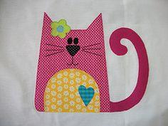 Fronha Travesseiro Gato (Ka Comelli) Tags: gato quarto criana patchwork bichinhos bordado fronha patchcolagem panoprato patchaplique