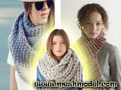 Apartment suite KNIT SCARF Apartment suite sewing was well known in the late I expect some of you are excessively youthful, making it impossible to have Mesh, Models, Knitting, Crochet, How To Make, Fashion, Templates, Moda, Tricot