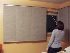 ikea kvartal panal curtains  | IKEA KVARTAL PANEL CURTAINS FOR CORNER WINDOWS IN THE BEDROOM