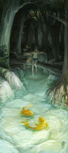 Ani finds a hidden stream in Azimara and goes there to think when faced with a devastating decision.